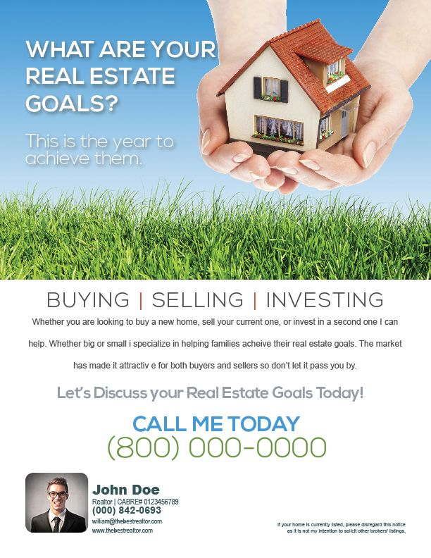 66d3cdfe33f Flyer that helps solicit the various real estate services by a realtor.   FarmingFlyers