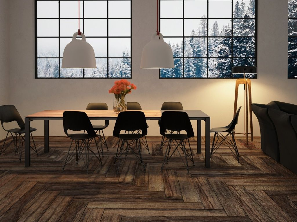 Price + Look + Durability + Maintenance and SO REALISTIC! Beautiful Wood-look tile by Interceramic. Check it out! Perfect for floor/wall applications.