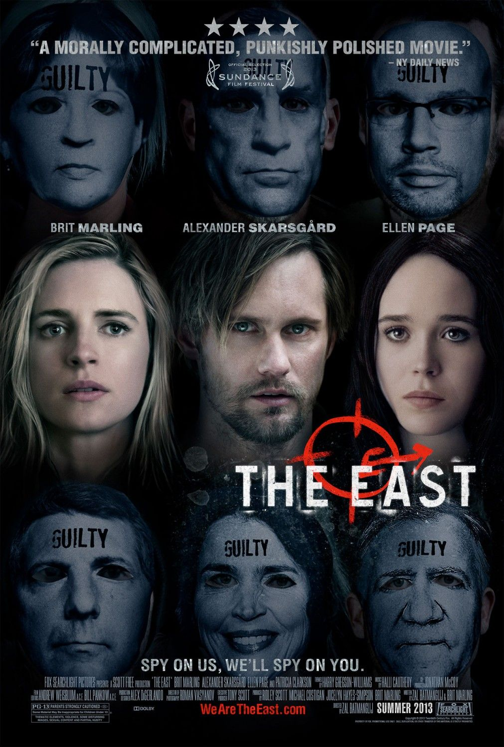 Fox Searchlight S The East Featuring Brit Marling Alexander