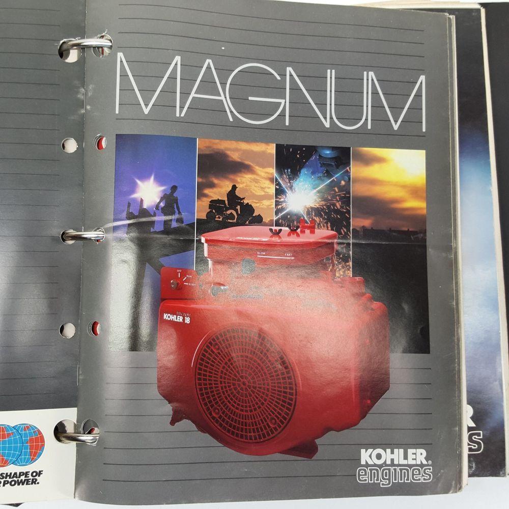 Kohler Engines Magnum Service Support Manual M18 M20 Mv16 And Other Literature Kohler Book Sale Magnum Kohler Engines