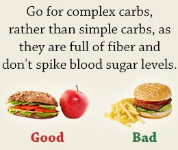 High Carbohydrate Food...