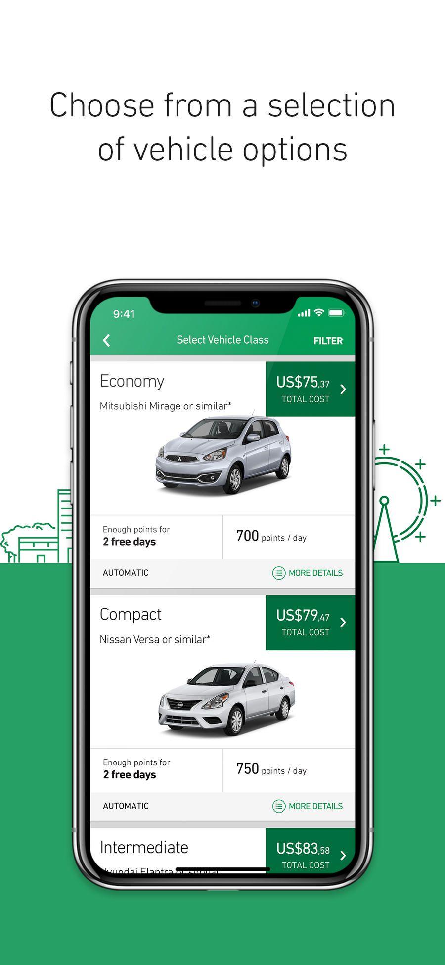 Enterprise Rent A Car Business Travel Apps Ios Enterprise Rent A Car Rent A Car Travel App