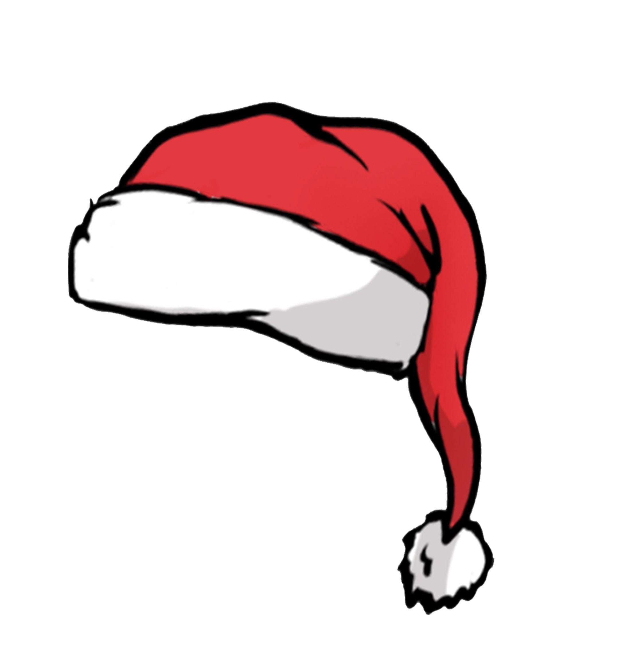 Santa Hat Mascots Christmas Phone Wallpaper Christmas Pattern Background Christmas Icon
