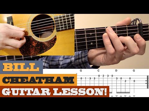 Bill Cheatham Doc Watson Intermediate Bluegrass Guitar Lesson With Tab Youtube Guitar Guitar Lessons Fiddle Tunes