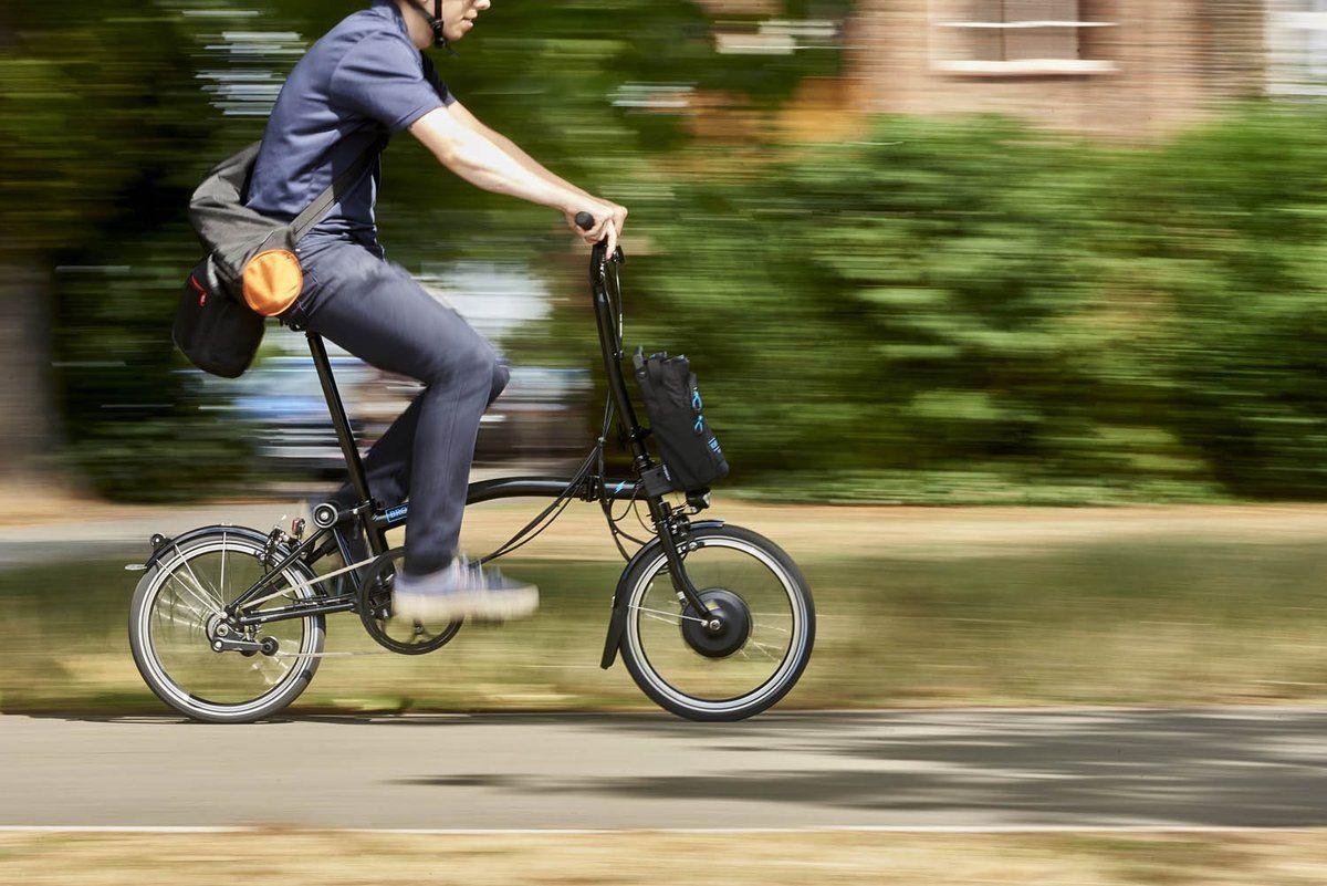 Go Further Faster With The Bromptonelectric Brompton Bike Brompton Bicycle