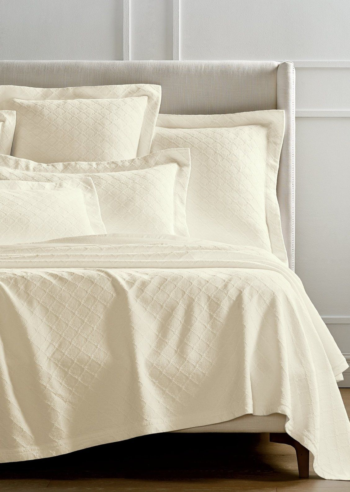 Resort Diamond Matelasse Bedding Collection Bedding Collections