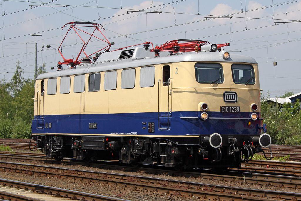 BR 110 Deutsche Bundesbahn Eisenbahn, Bundesbahn und