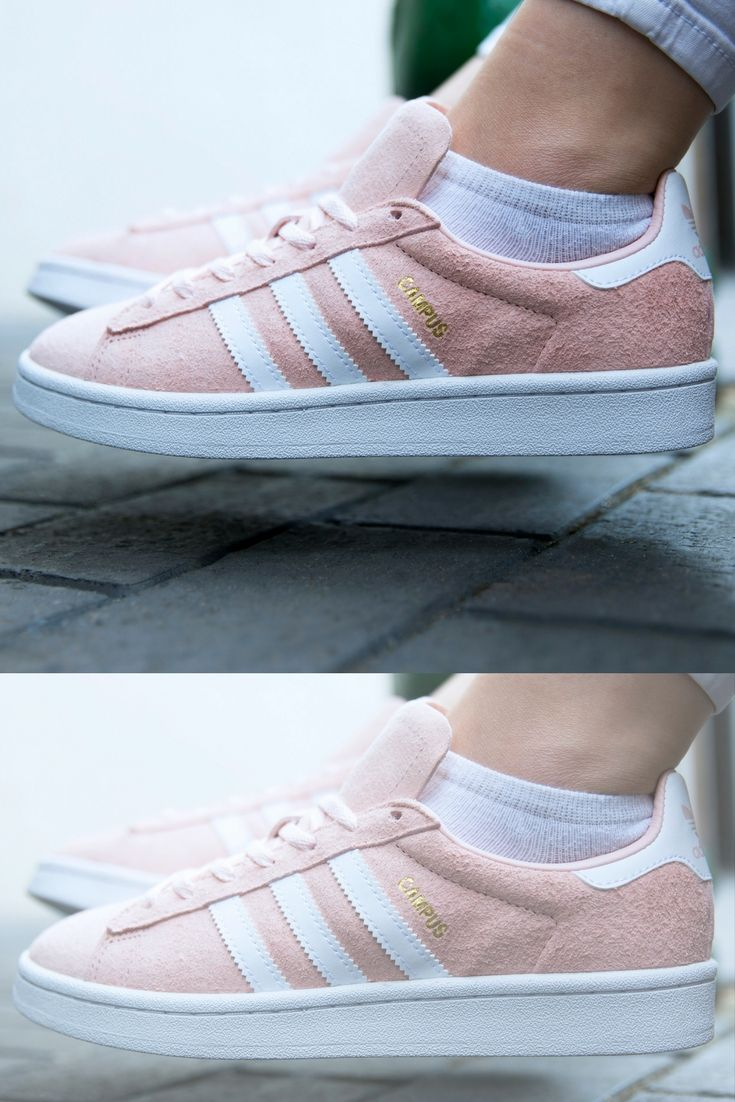Powerfully pink with adidas Campus 👊🏼