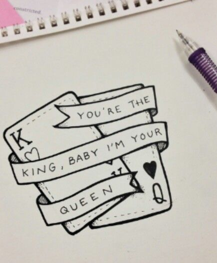 King And Queen Drawings : queen, drawings, You're, King,, Queen, Drawings, Boyfriend,, Drawing, Quotes,