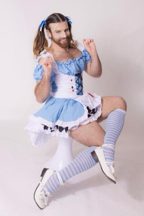 Men crossdressing