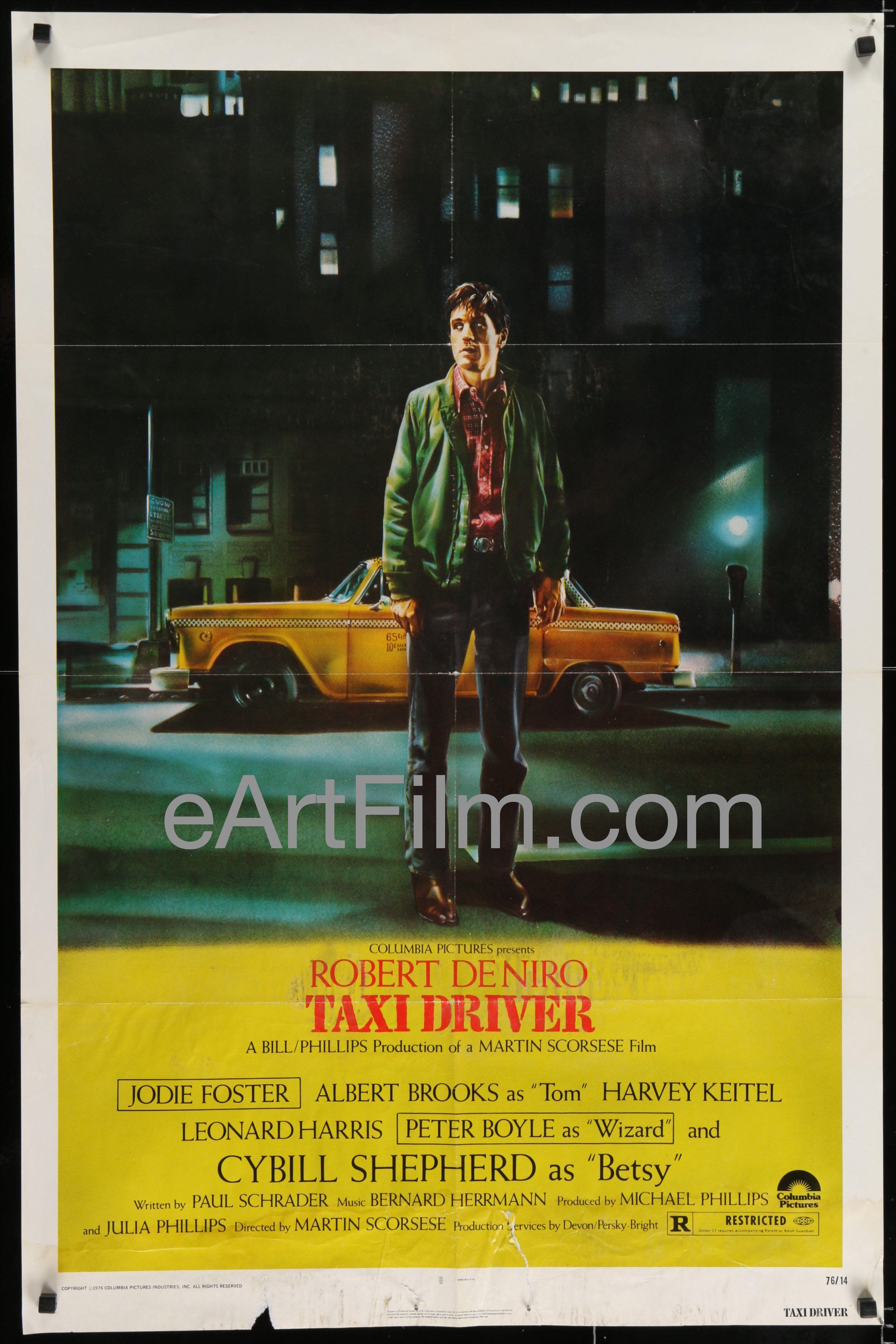 Taxi Driver Robert De Niro Martin Scorsese original movie