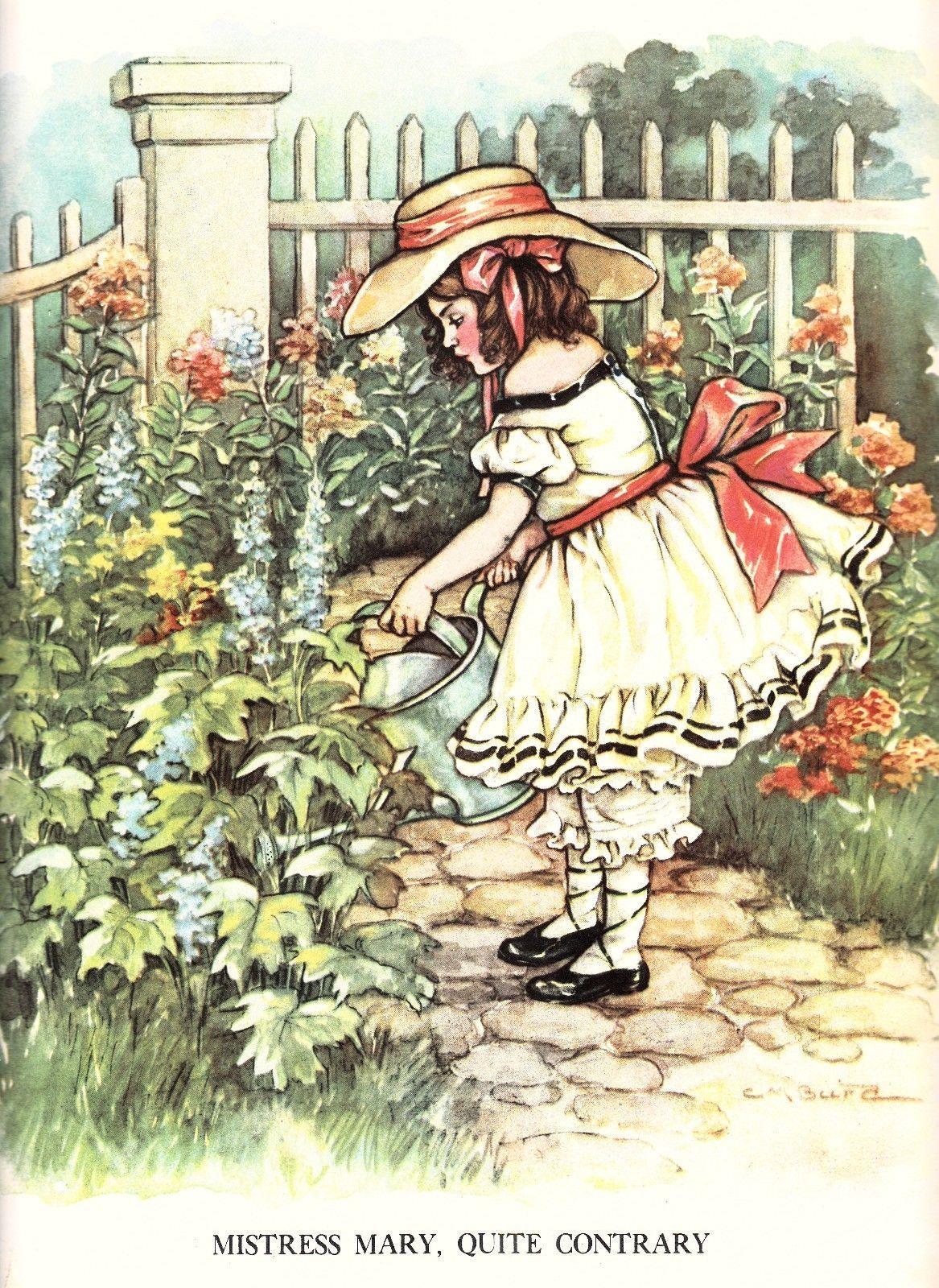 Clara M. Burd illustration,1929 | eBay