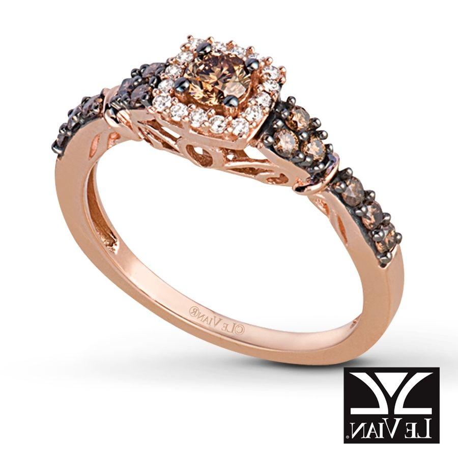 Cocoa Diamond Rings: Chocalte Diamond Rings Weddings At Reisefeber.org