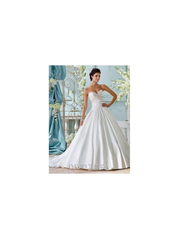David tutera for mon cheri wedding dress style no wedding