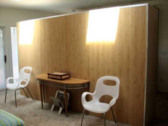 IKEA PAX Wardrobe as Room Divider   Lofty ideas   Pinterest   Ikea