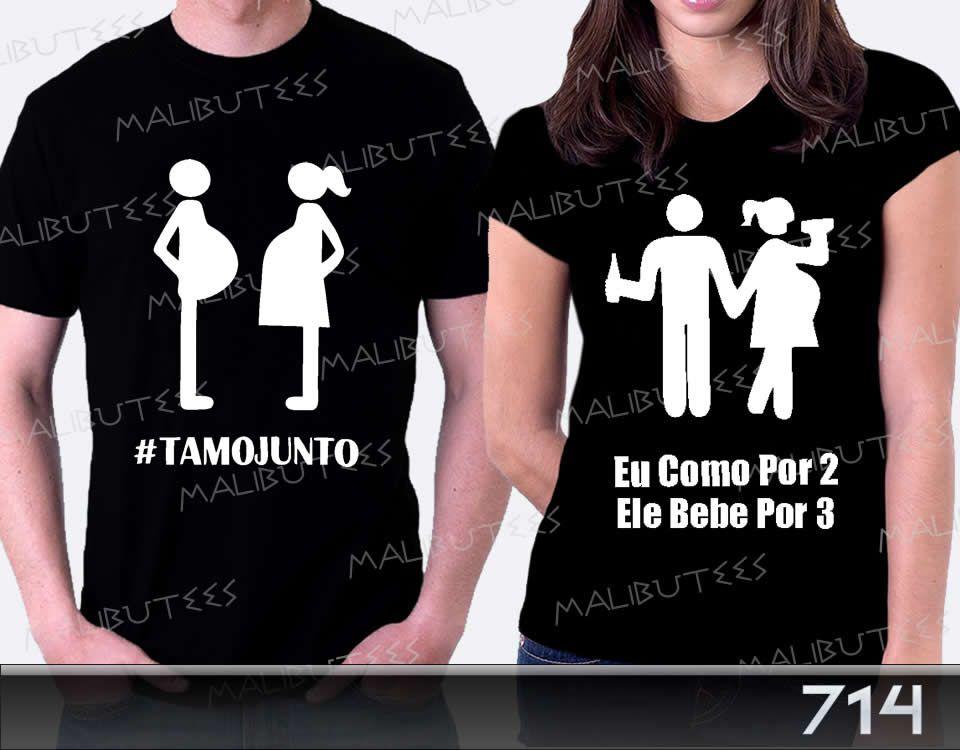 Camiseta Gravida Gestante Tamo Junto Bebe Espiando Botões - R  79 8dcd4b9c0f6c4