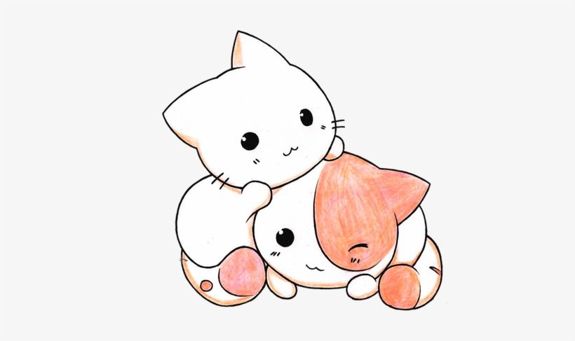 Download Image Gallery Kawaii Cat Chibi Cats Png Image For Free Search More Creative Png Resources With No B Kitty Drawing Kitten Drawing Kawaii Cat Drawing