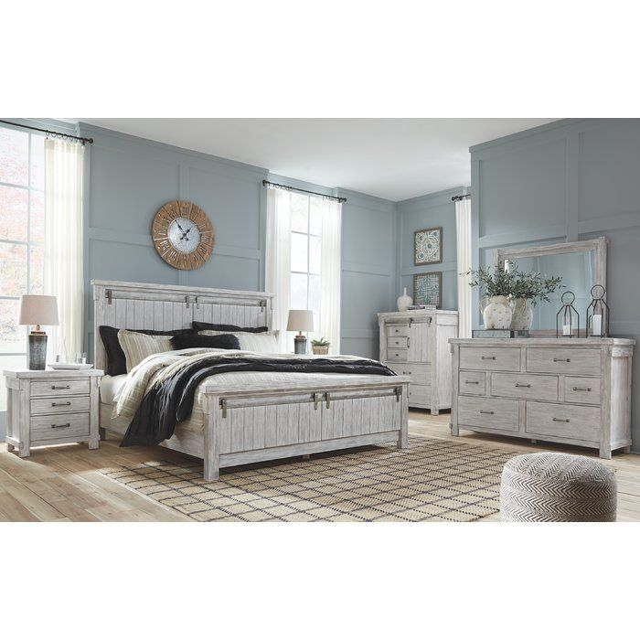 Best Rovner 3 Drawer Nightstand In 2020 White Washed Bedroom 400 x 300