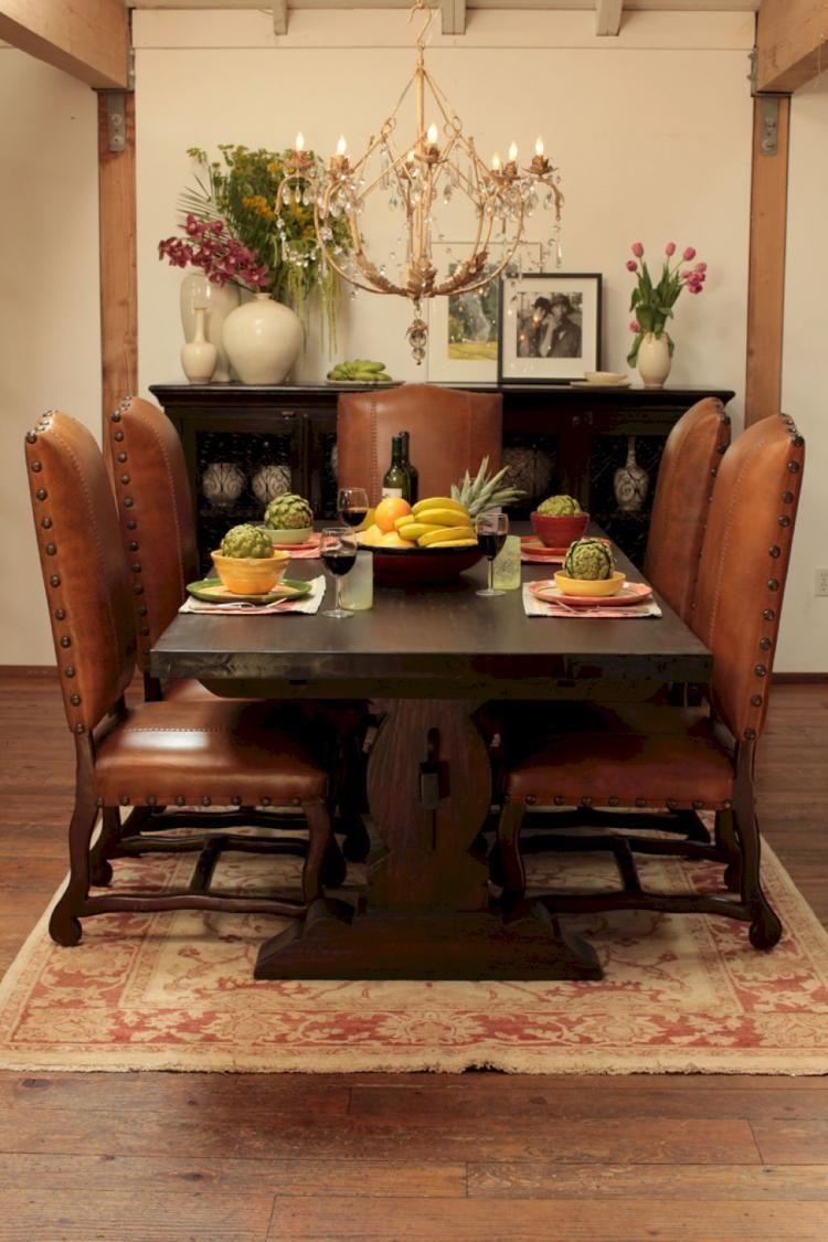 40 Enchanting Rustic Dining Room Decor Ideas Dining Room Small