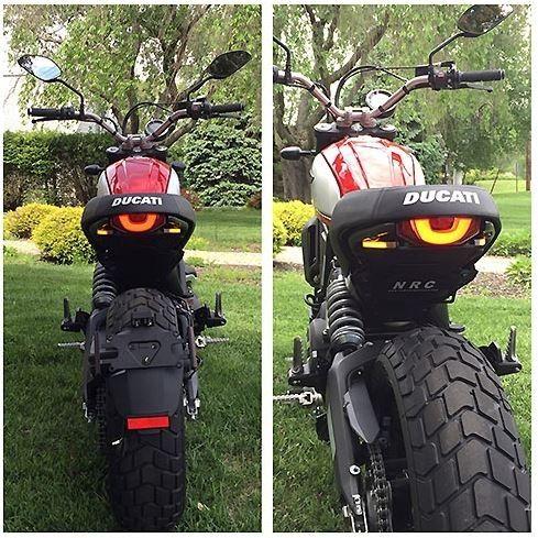 Ducati Scrambler Desert Sled Fender Eliminator New Rage Cycles