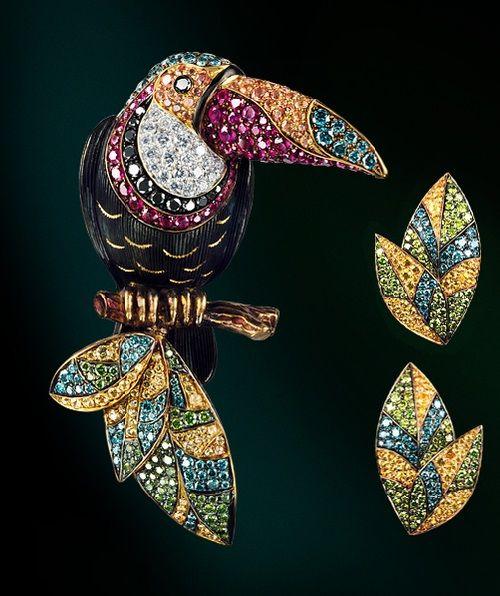 Rain forest. Jewellery Theatre kaleidoscope
