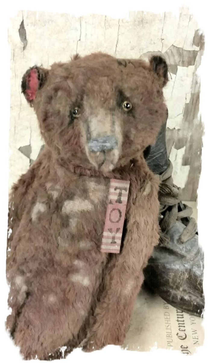 """Larger Size.... Aprrox. 9"""" tall (sits @ 7"""" ) - Antique Classic Style tattered…"""