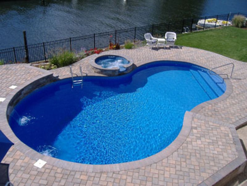 Pool designs swimming pool design swimming pools hold been with u s a this the great - Swimming pool design ideas and prices ...