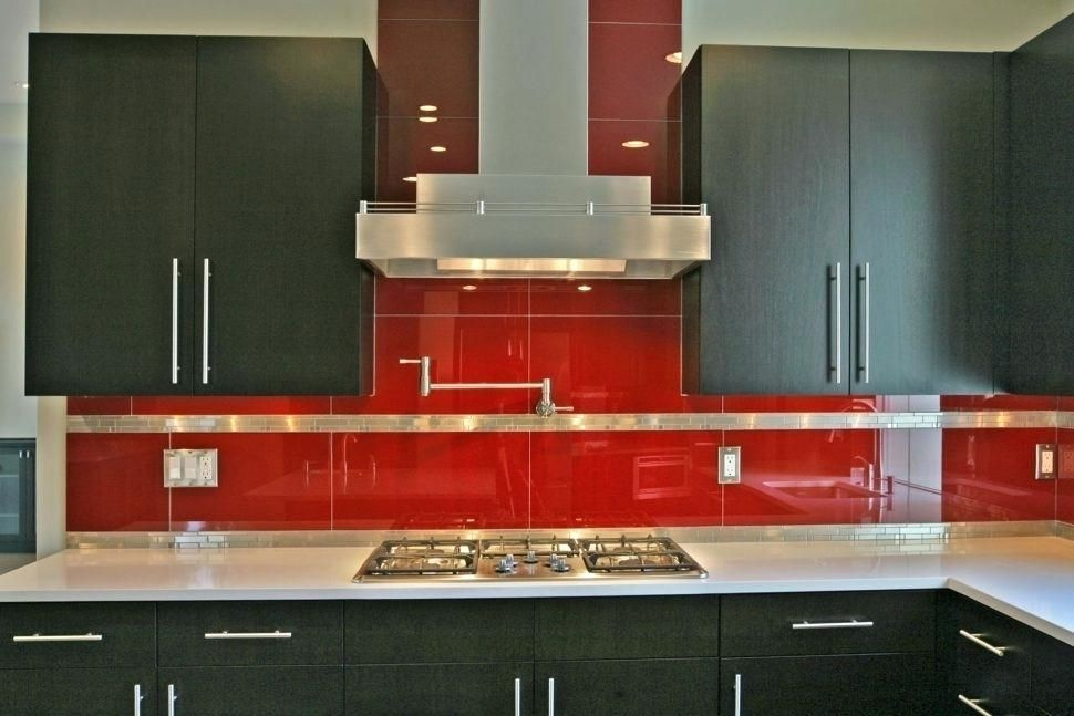 Kitchen Ideas With Red Tiles Modern Kitchen Backsplash Kitchen