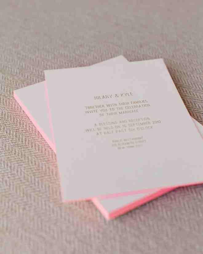 Cutting Edge   Neon Wedding Ideas