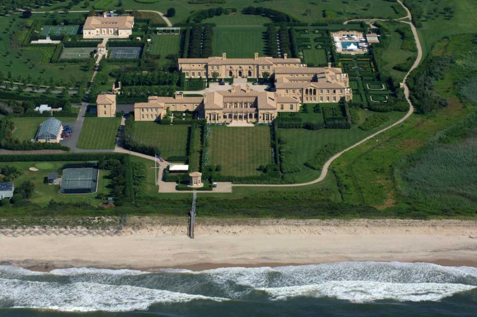 10 highest taxed hamptons homes long island ny acre and for Biggest homes in the hamptons