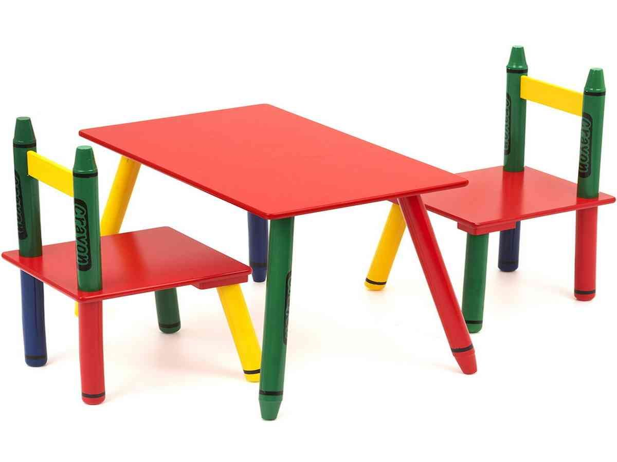 Crayola Table And Chairs Set | Chair Sets1 | Pinterest