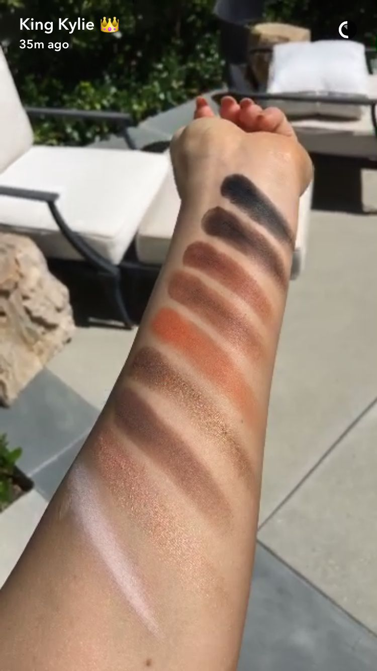 Kyshadow - The Bronze Palette by Kylie Cosmetics #3