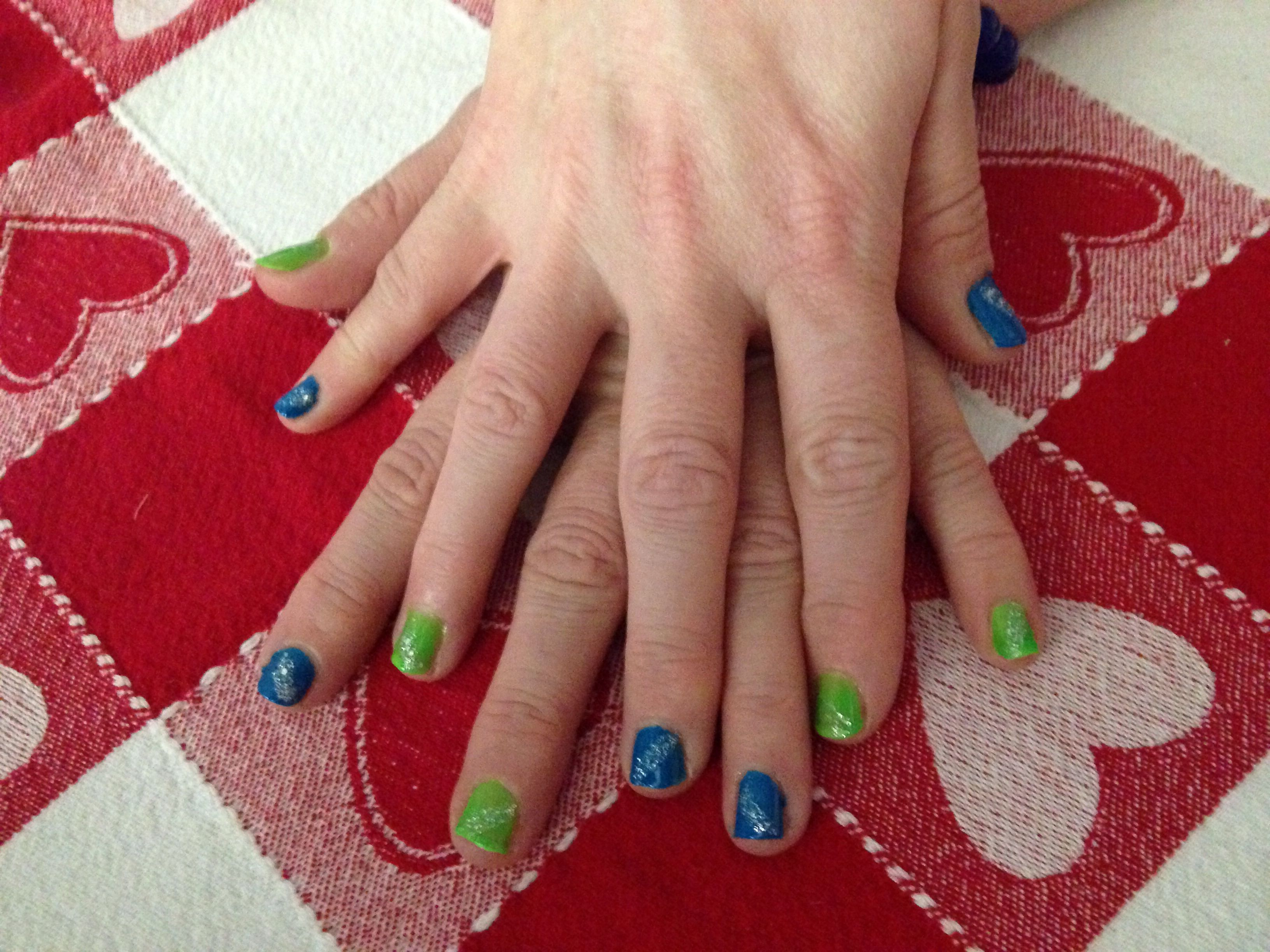 Better Seahawks nails