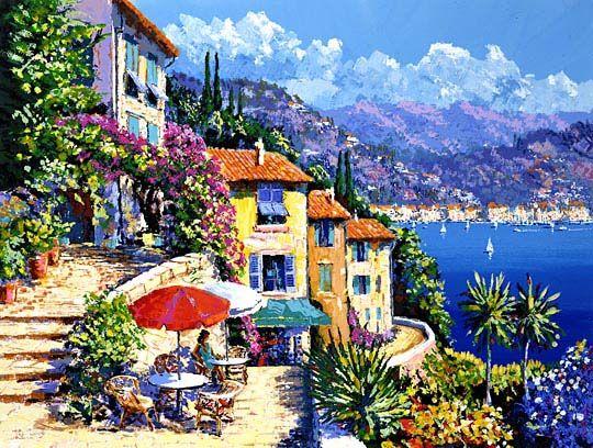 KERRY HALLAM, Cap d'Azur,