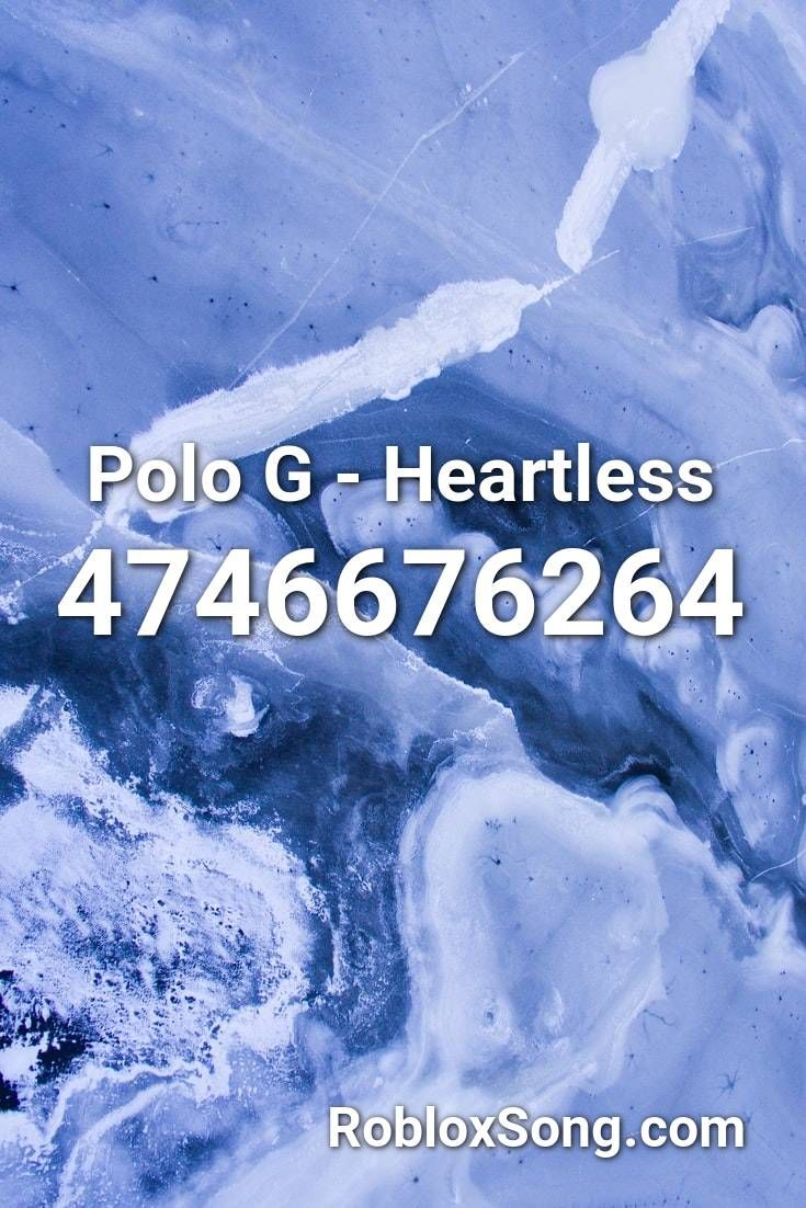 heartless polo g roblox id