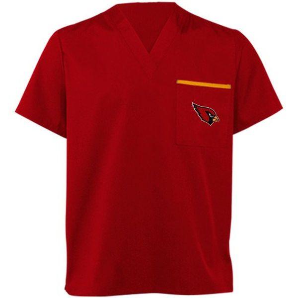 Arizona Cardinals Cardinal Red Scrub Top - $24.99
