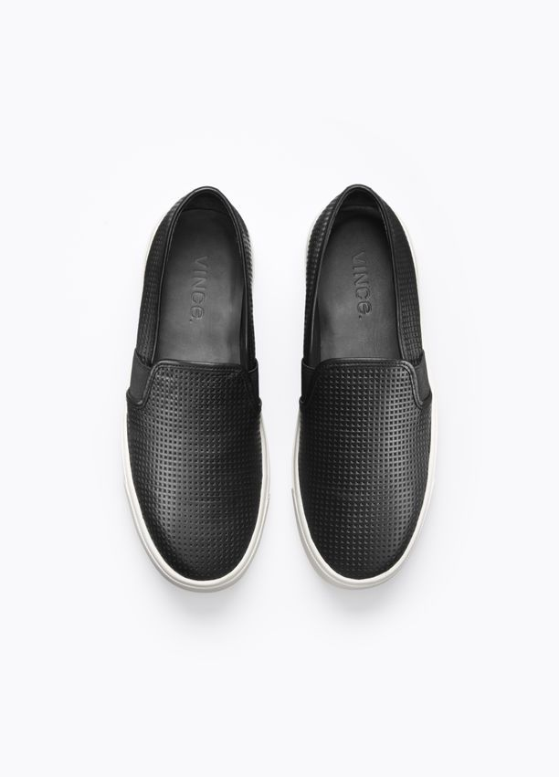 62edf009f Perforated Leather Blair Sneaker | Shoes | Leather sneakers, Shoes ...
