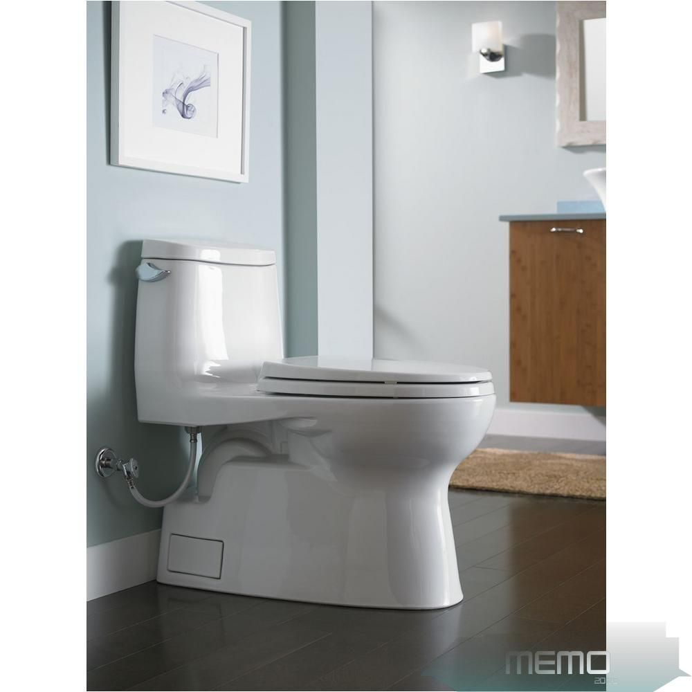 Mar 14 2020 Toto Carlyle Ii 1 Piece 1 28 Gpf Single Flush Elongated Skirted Toilet With Cefiontec In 2020 Toilet For Small Bathroom Small Bathroom Bathrooms Remodel