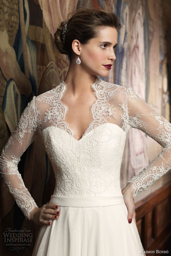 Bridal gowns with sleeves 2014 – Wedding traditions blog
