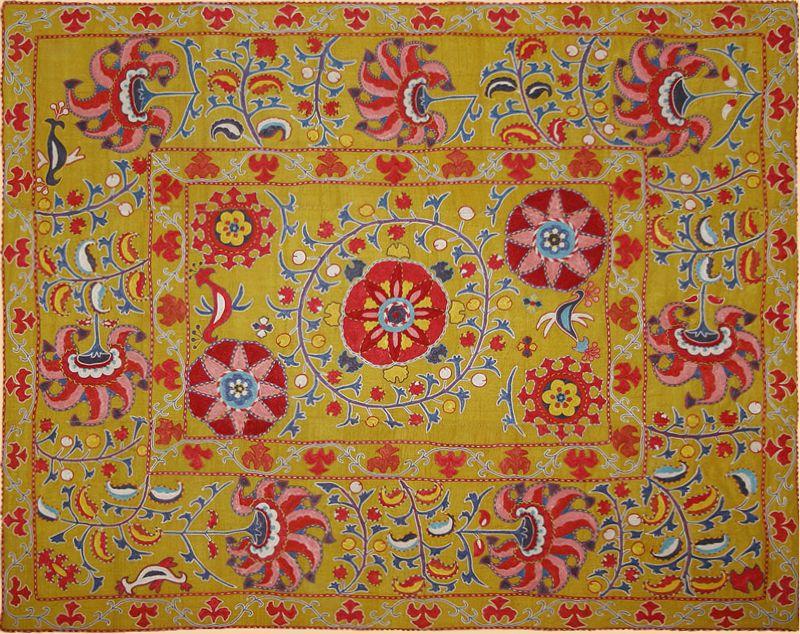 Middle Eastern Textiles Textileasart Com Fine Antique Textiles And Antique Textile Information Antique Textiles Suzani Asian Textiles