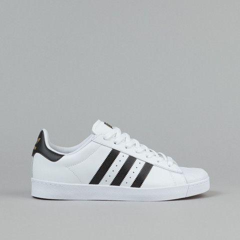 Black · Adidas Superstar Vulc ADV Shoes - FTWR White / Core ...