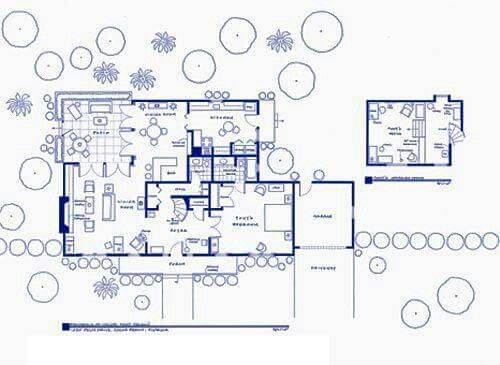 Floor Plan For Tony And Jeanie S House From I Dream Of Jeannie