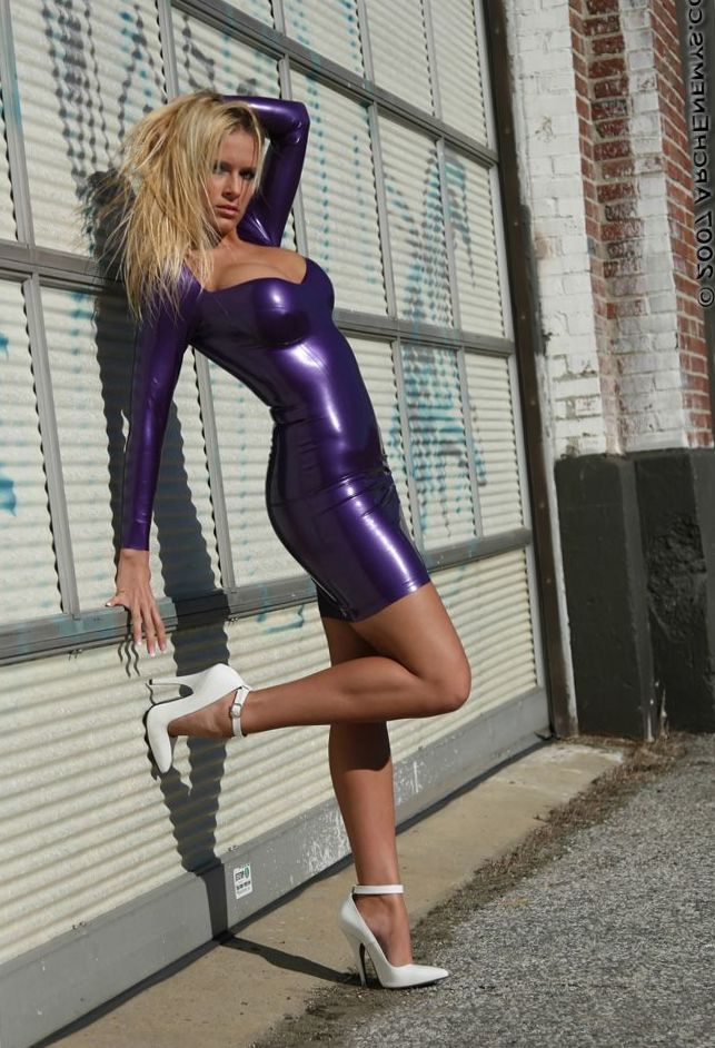 e896af82cf5ed Carrie LaChance | Love Sexy and Hot <3 in 2019 | Latex dress, Latex ...
