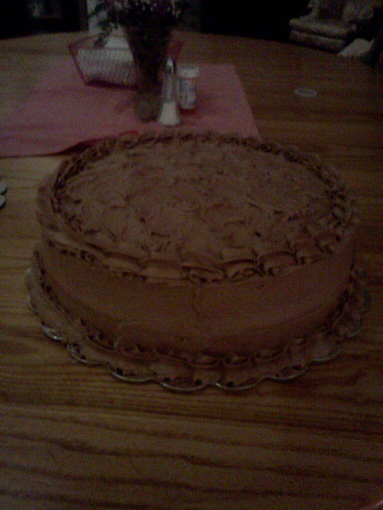Chocolate/Chocolate Cake