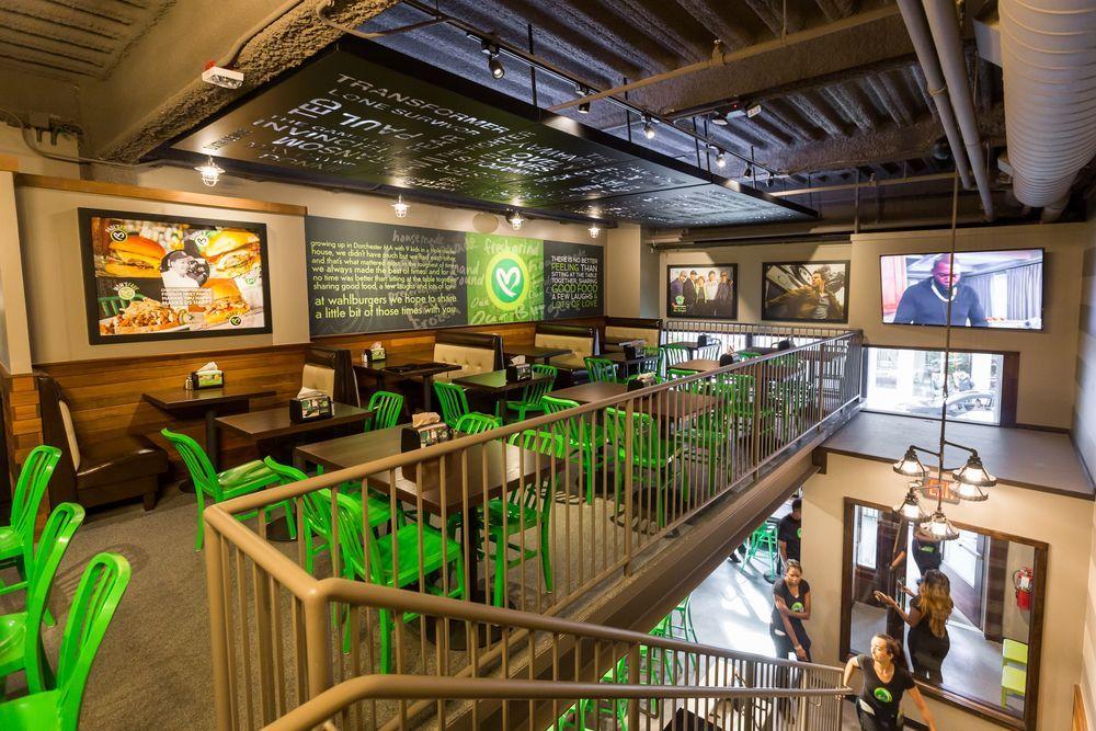 Wahlburgers Greektown Detroit Detroit Restaurants Cafes In