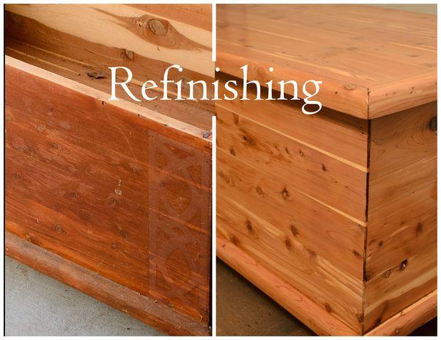 Refinishing Old Furniture Cedar Furniture Cedar Chest