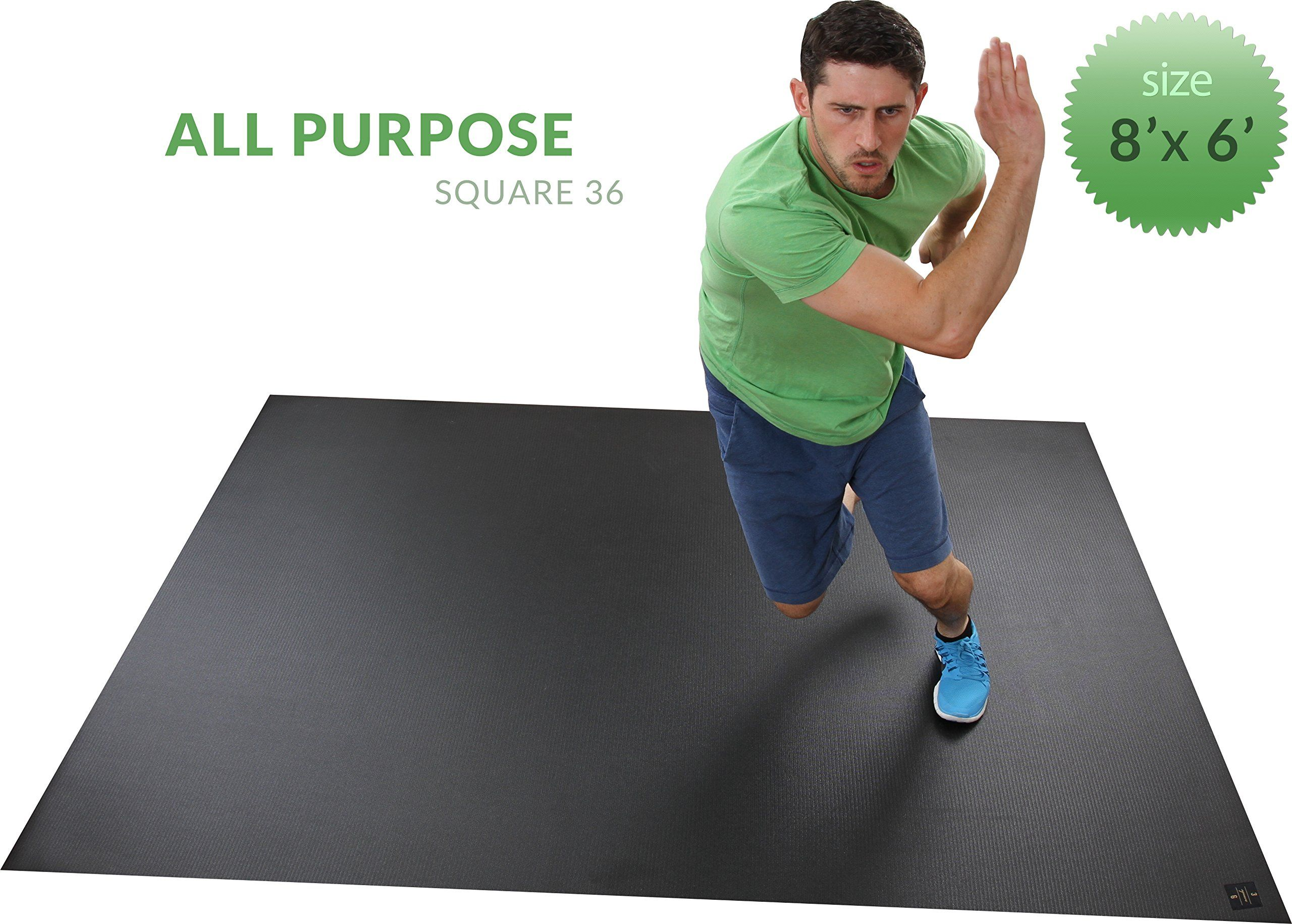 or amazon combination treadmill mma work dp surfacing the equipment x aerobics fitness large ft for out mats yoga is plyometrics perfect com mat cardio exercise