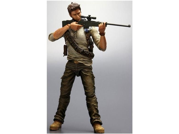 Uncharted 3 Nathan Drake Play Arts Kai Action Figure Uncharted