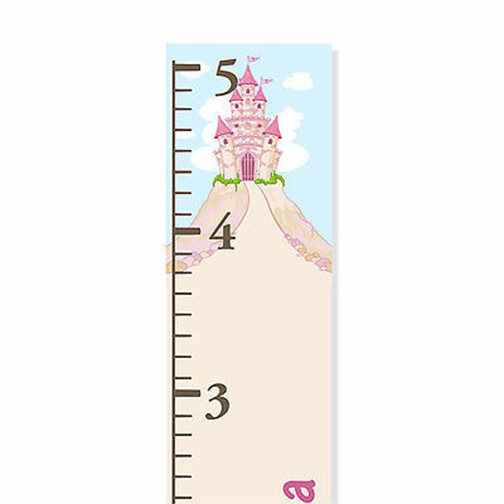 Princess castle personalized canvas growth chart height chart princess castle personalized canvas growth chart nvjuhfo Gallery