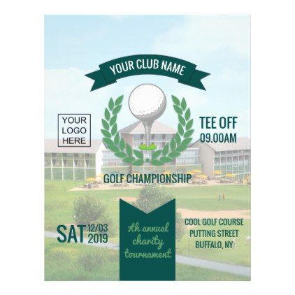 Club\/Corporate Golf Tournament Advertisement Flyer - template - advertisement flyer template